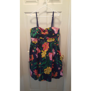Torrid Plus Size Floral Dress Sz 18